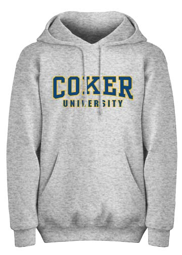 Image For Hood COKER UNIVERSITY REVERSE WEAVE HOOD