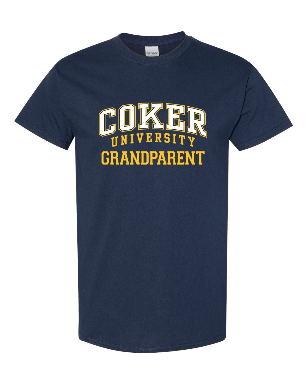 Image For Shirt Short Sleeve COKER UNIVERSITY GRANDPARENT TEE