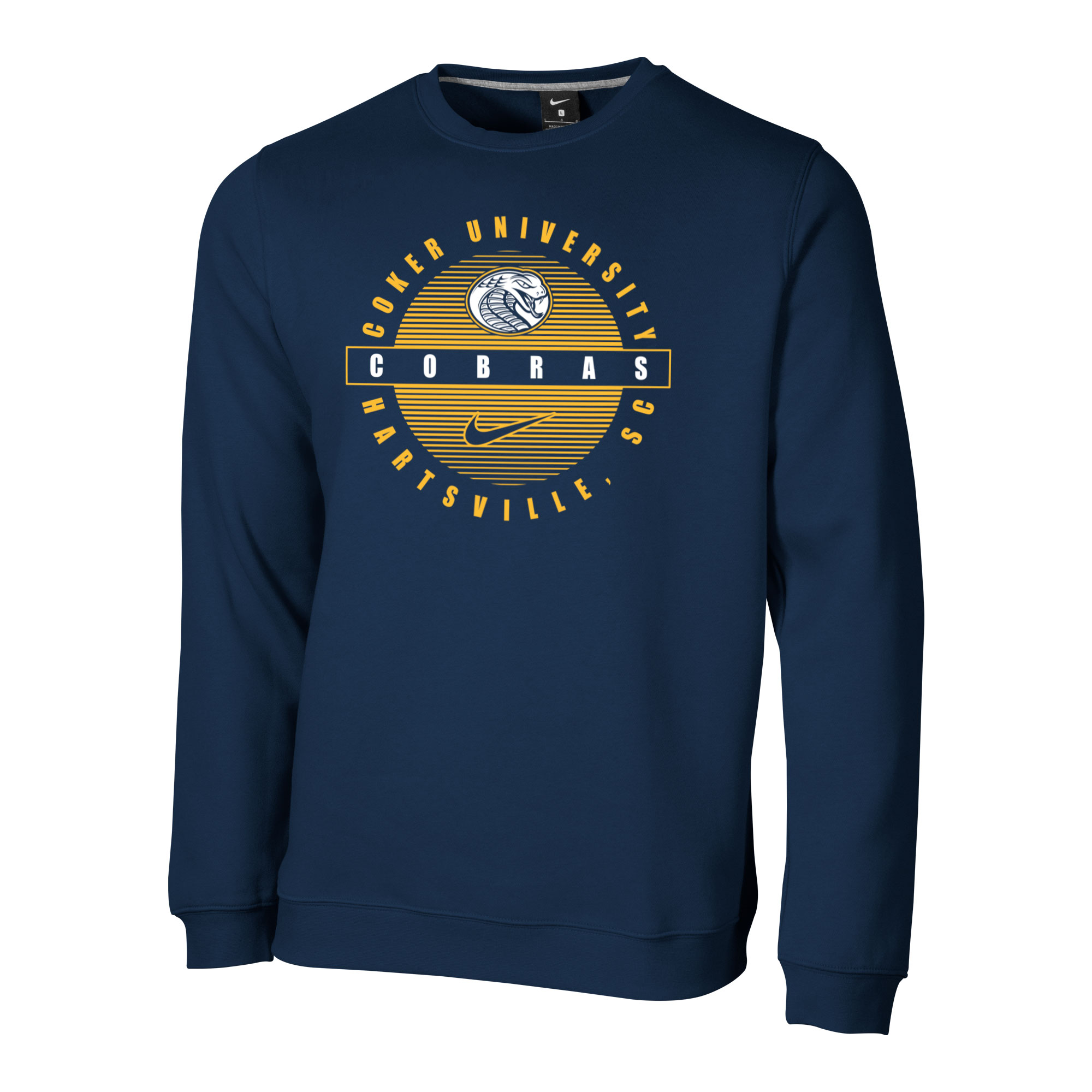 Image For Crew COKER UNIVERSITY CLUB FLEECE CREW
