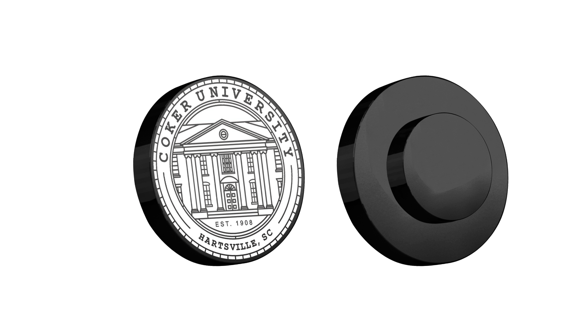 Cover Image For Gift COKER UNIVERSITY LAPEL PIN MAGNETIC