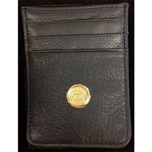 Image For Clearance Clip LEATHER MONEY CLIP HOLDER