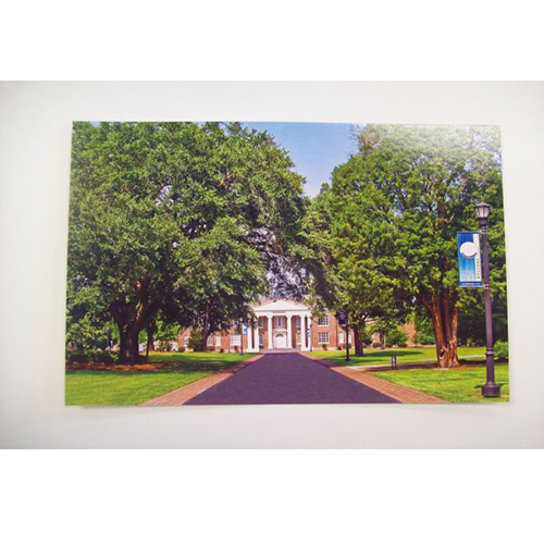 Image For Clearance Card DAVIDSON HALL POSTCARD