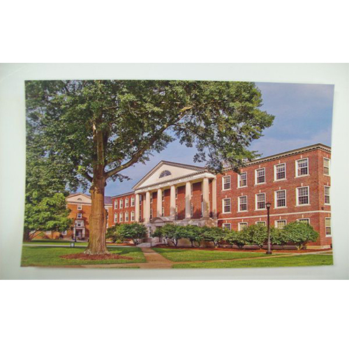 Image For Clearance Card SCIENCE BUILDING POSTCARD