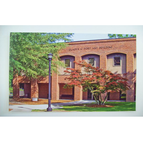 Image For Clearance Card ART BUILDING POSTCARD