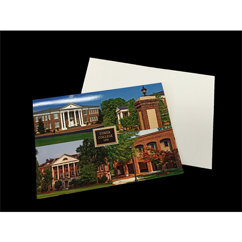 Image For Clearance COKER 4 SCENES NOTE W/ENVELOPE