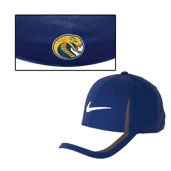 Cover Image For Hat Dri Fit MENS GAMEDAY SWOOSH FLEX CAP NAVY